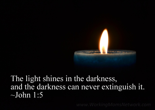 Candle (John 1:5)